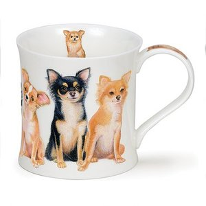 Dunoon Wessex Designer Dogs Chihuahua Mug