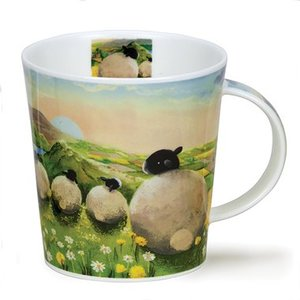 Dunoon Dunoon Lomond The Sheep Mug - Dandelion