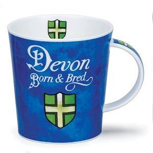 Dunoon Lomond Born & Bred Devon Mug
