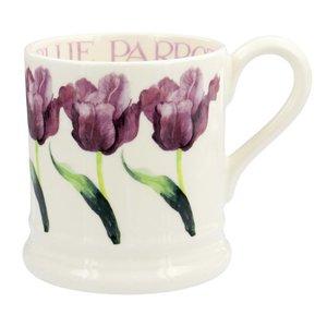 Emma Bridgewater 1/2 Pint Mug - Blue Parrot Tulip