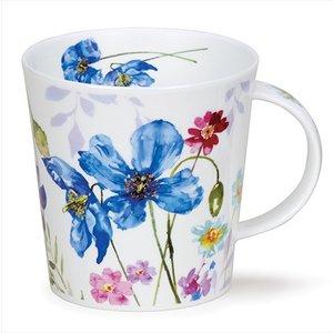 Dunoon Dunoon Cairngorm Country Garden Mug - Blue Poppy