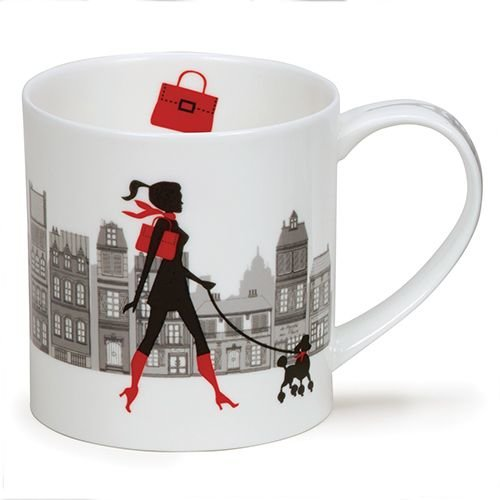 Dunoon Orkney City Chic Shoulder Bag Mug