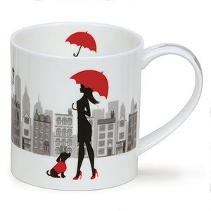 Dunoon Dunoon Orkney City Chic Mug - Umbrella