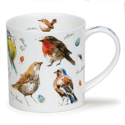 Dunoon Orkney Garden Birds Mug
