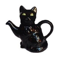 Tony Carter Black Cat Teapot