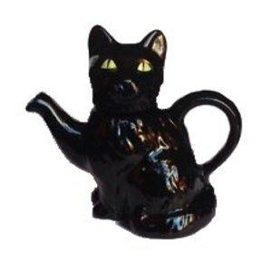 Carters of Suffolk Tony Carter Black Cat Teapot