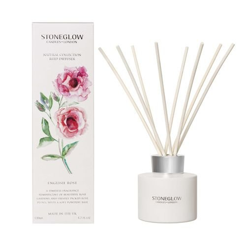 Stoneglow Stoneglow English Rose Reed Diffuser