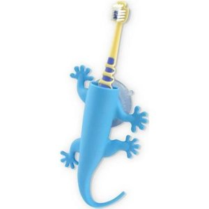 J-Me J-Me Larry the Lizard Toothbrush Holder-Blue