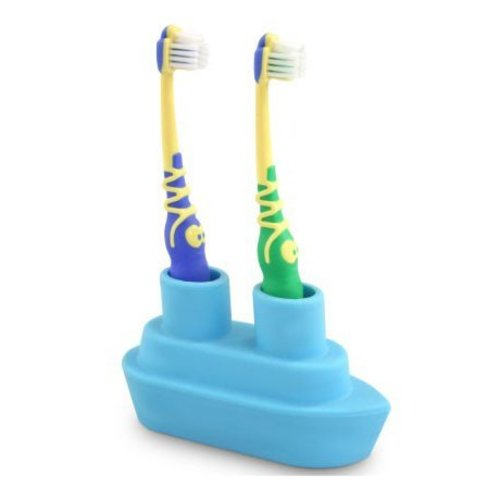 J-Me J-Me Boat Toothbrush Holder-Blue