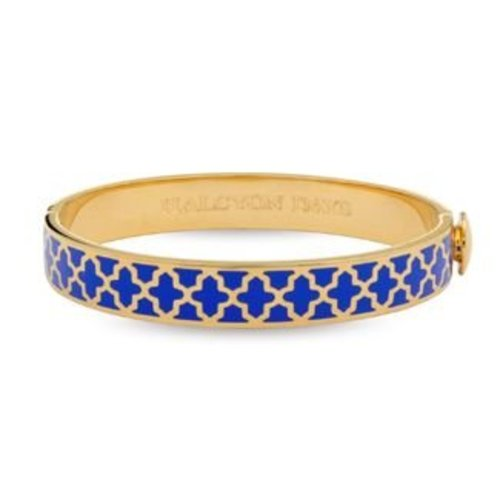 Halcyon Days Halcyon Days Agama Bangle - Cobalt and Gold