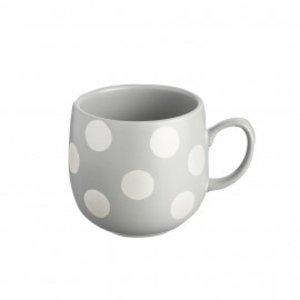 Price & Kensington Price & Kensington Silver Spot Grey Mug