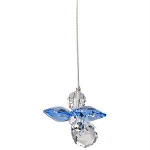 Crystal Guardian Angel - Sapphire