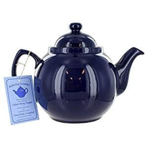 Cobalt Blue Betty 6 Cup Teapot