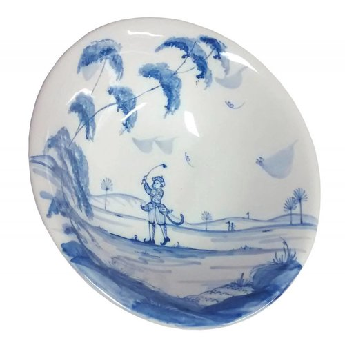 Isis Ceramics Isis Blue Sporting Monkeys - Reginald - Cereal Bowl