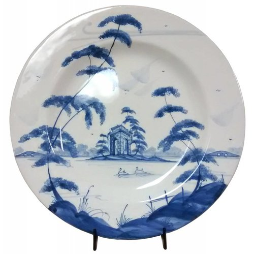 Isis Ceramics Isis Blue English Garden - The Ruin - Dinner Plate
