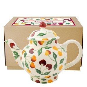 Emma Bridgewater Summer Cherries 4 Mug Teapot