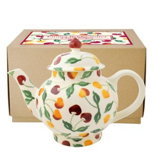 Emma Bridgewater Emma Bridgewater Summer Cherries 4 Mug Teapot