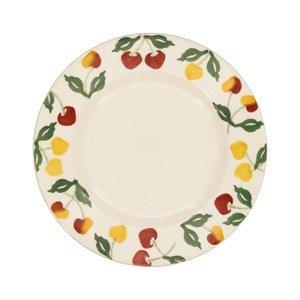 "Emma Bridgewater Emma Bridgewater Summer Cherries 8 1/2"" Plate"