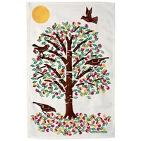 Summer Cherries Tea Towel