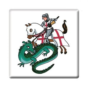 Alison Gardiner St George and the Dragon Coaster