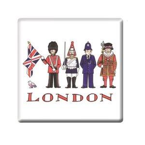 Alison Gardiner Alison Gardiner London Figures Coaster