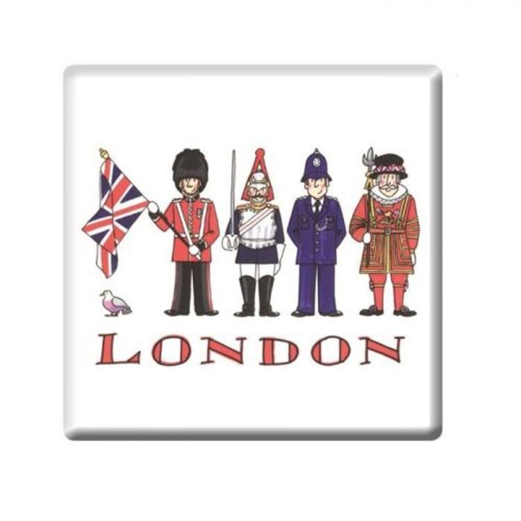 Alison Gardiner London Figures Coaster