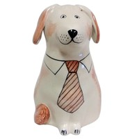 Rye Dog - Coral With Tie