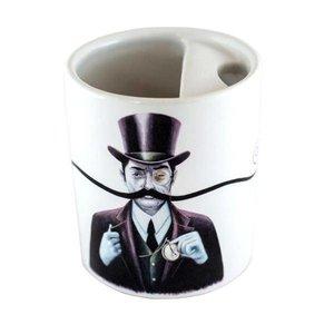 Bucardo Moustache Mug - Turn of the Century