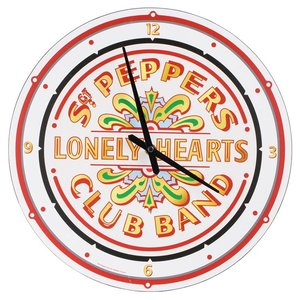 The Beatles The Beatles Sgt. Pepper's Lonely Hearts Club Band Wall Clock
