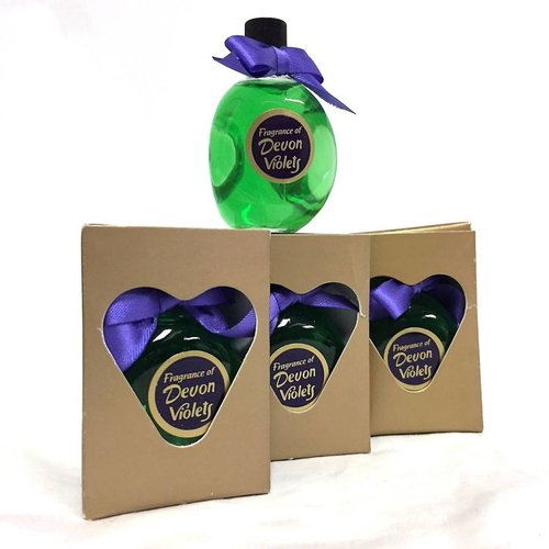 Floral Charm Devon Violets 15ml Perfume Set of 4