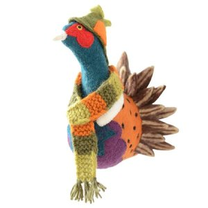 Sew Heart Felt Felted Animals Sherlock Pheasant Head