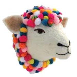 Sew Heart Felt Felted Animals Jazzy Sheep Wall Head