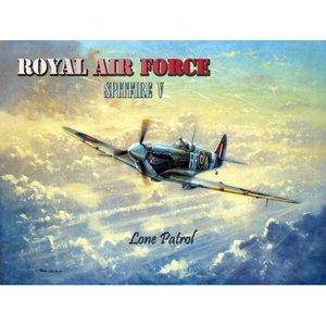 Original Metal Sign Co. Royal AF Spitfire Metal Sign