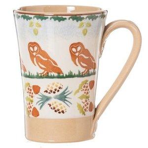 Nicholas Mosse Nicholas Mosse Woodland Owl Tall Mug