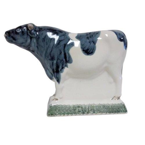 Rye Pottery Rye Bull - Gray Spots