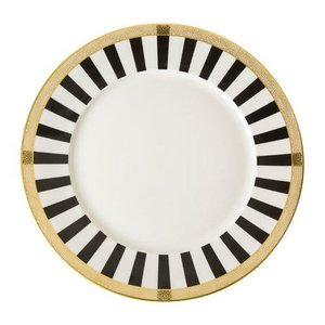 Royal Crown Derby Satori Black Dinner Plate