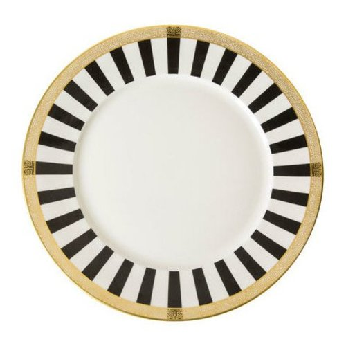 Royal Crown Derby Royal Crown Derby Satori Black Dinner Plate