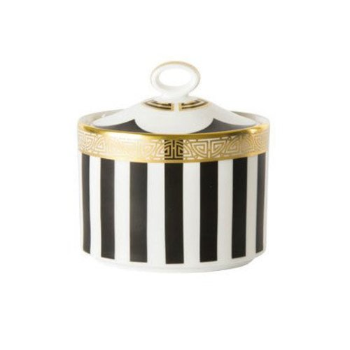 Royal Crown Derby Satori Black Sugar Caddy