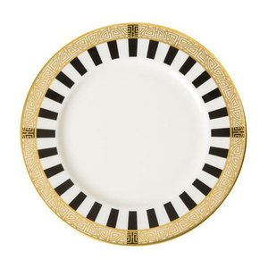 Royal Crown Derby Satori Black Bread and Butter Plate