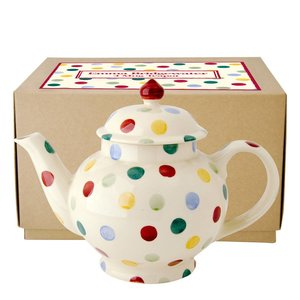 Emma Bridgewater Emma Bridgewater Polka Dot 4 Cup Teapot