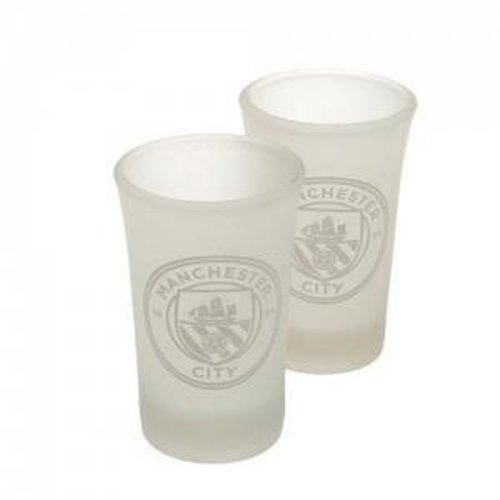 Manchester City Shot Glasses 2 Pack