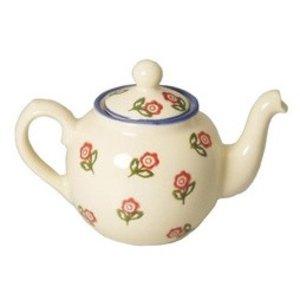 Brixton Pottery Rose Teapot  - 4 Cup