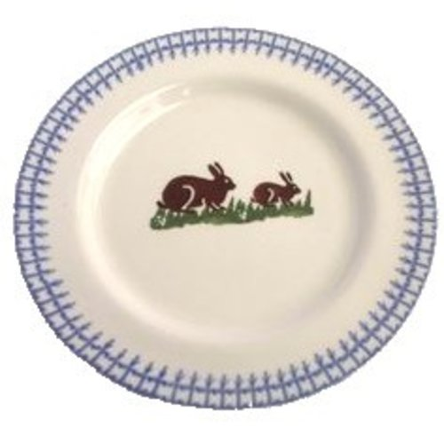 Brixton Pottery Rabbits Side Plate