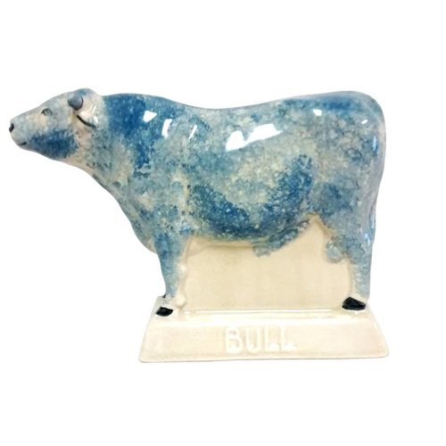 Rye Pottery Rye Bull - Blue