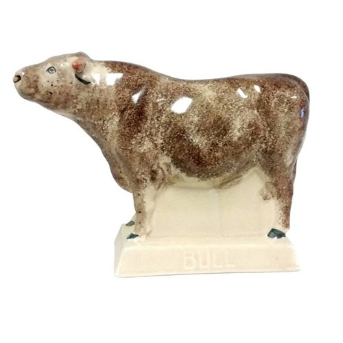 Rye Pottery Rye Bull - Brown