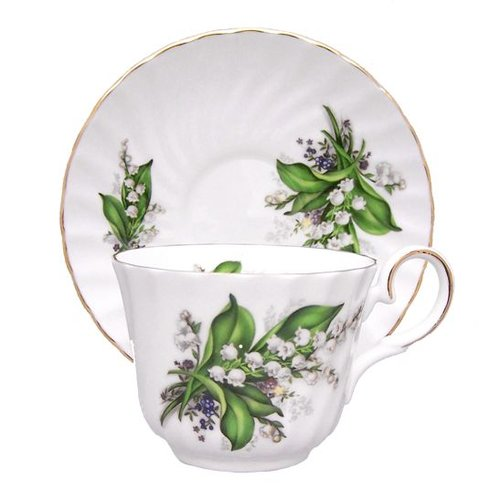Berta Hedstrom Berta Hedstrom Lily of the Valley Teacup and Saucer