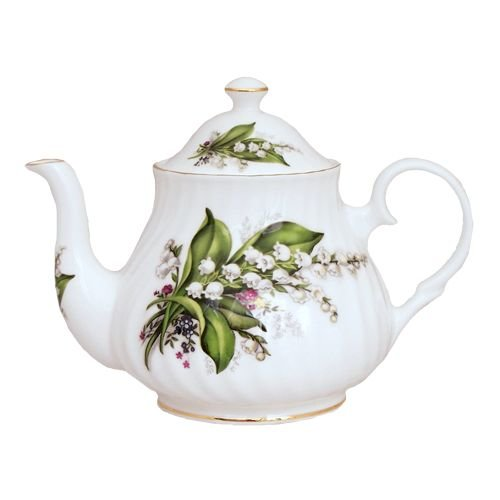Berta Hedstrom Berta Hedstrom Lily of the Valley 6 Cup Teapot