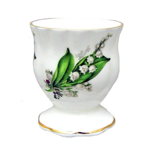 Berta Hedstrom Lily of the Valley Egg Cup