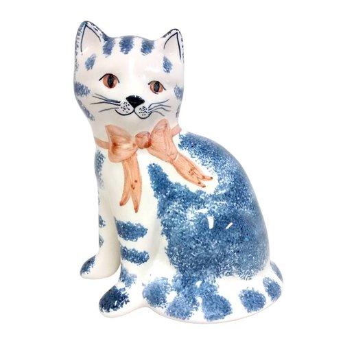 Rye Pottery Rye Cat - Blue