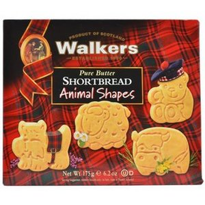 Walker's Shortbread Co. Walkers Shortbread Animal Shapes